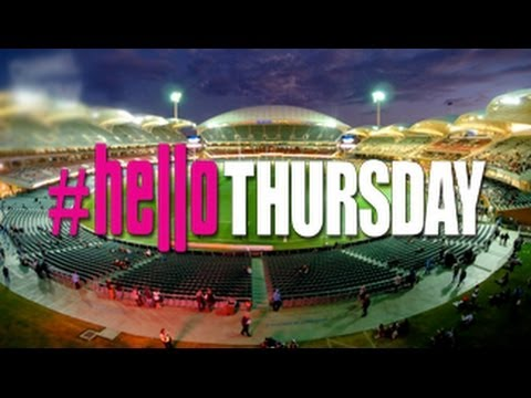 Thursday Night Adelaide Oval Time-lapse