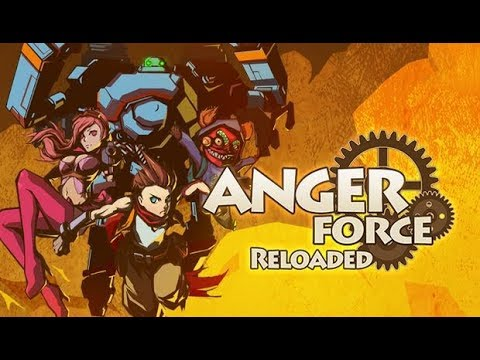 AngerForce: Reloaded Gameplay [HD] [PC] |