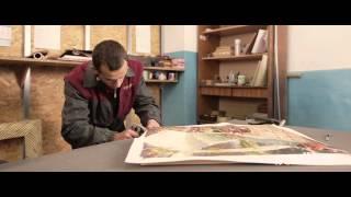 Cum se inrameaza un tablou in atelierul MOLDECO