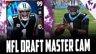 NFL DRAFT MASTER CAM NEWTON JOINS THE SQUAD!!! - MADDEN 17 NFL DRAFT MASTER CAM NEWTON GAMEPLAY