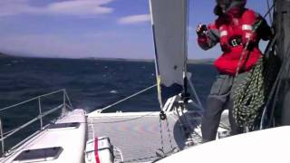 Outremer 45 catamaran Scotland