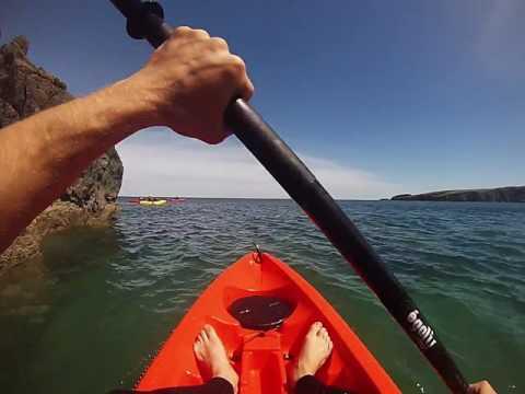 The Irish Experience Goes Sea Kayaking - YT