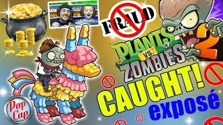 PVZ 2 FRAUD! Pop Cap Caught Red-Handed! Special Prize Robbery in Pinata Party! (FGTeeV Scam Exposé)