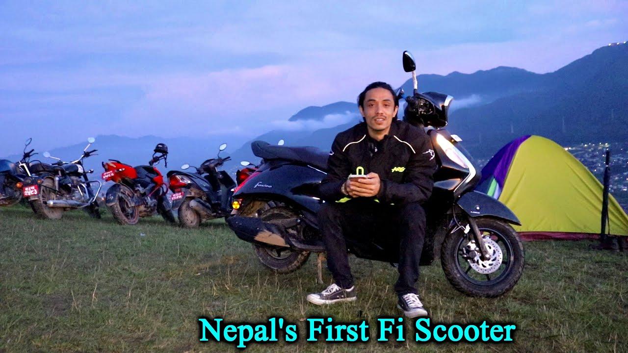 YAMAHA Fascino 125 Fi | Offroad Ride & Camping | Nepal