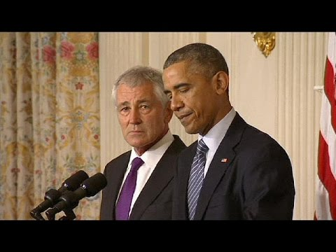 US Defence Secretary Chuck Hagel steps down