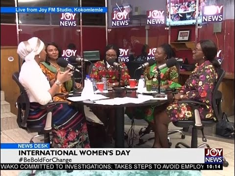 International Women's Day - News Desk on Joy News (8-3-17)