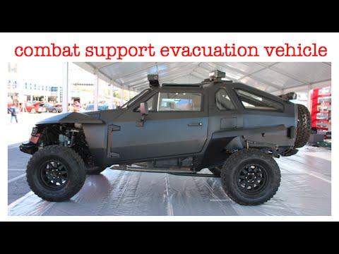 Combat Support Evacuation Vehicle Sema 2014 Youtube