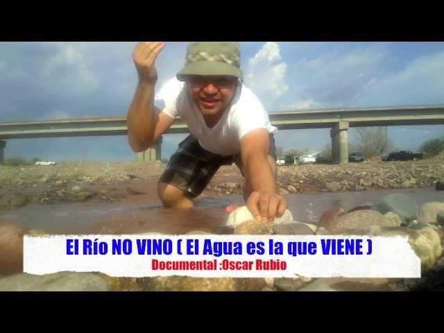 ( VINO EL RÍO ) Llego? el Agua al Ri?o de Mocorito Sinaloa 13 de Julio 2013