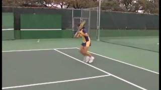 How to Hit on a Tennis Backboard