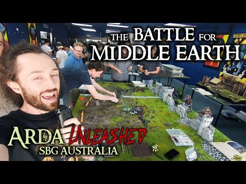 The Battle for Middle Earth Doubles ~ Arda Unleashed Days 1 & 2