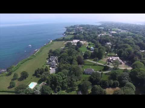 Newport Rhode Island Mansion Cliff Walk Part 2 Dji Inspire 1 Drone July 19 2015