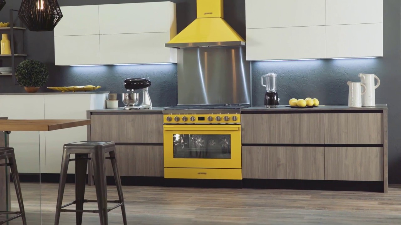Smeg Portofino Range Cooker and Hood Collection - YouTube