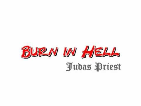 Karaoke instrumental cover of Burn in hell -Judas Priest