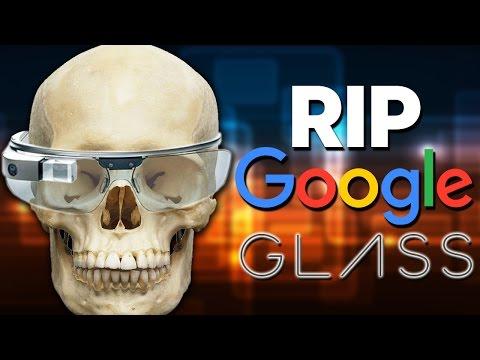 NO MORE GOOGLE GLASS!