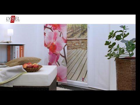 fl chenvorhang deckenmontage doovi. Black Bedroom Furniture Sets. Home Design Ideas
