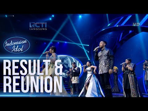 ALL CONTESTANTS - IDOLA INDONESIA - RESULT & REUNION - Indonesian Idol 2018