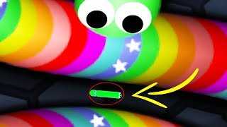 Slither.io Fastest Way To Get Big! - Funny Trolling Longest Snake! (Slitherio Funny Moments)