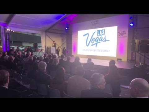 Las Vegas Convention Center District Groundbreaking Livestream At CES 2018 #CES2018