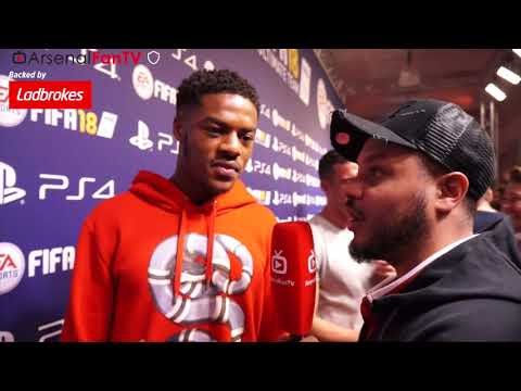 Chuba Akpom Talks To Troopz | FIFA 18 Launch Party