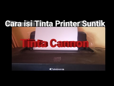 Cara Melubangi Cartridge Printer IP 2770 dengan Alat Seadanya cara melubangi cartridge canon 811 , m.