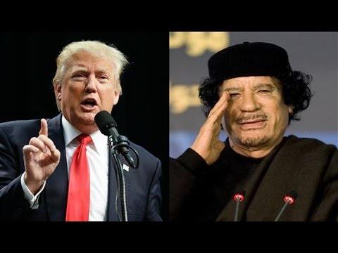 Trump's Weird Run-In With Libyan Dictator Moammar Gadhafi