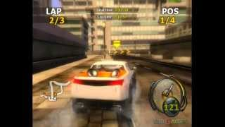 Flatout - Gameplay Wii (Original Wii)