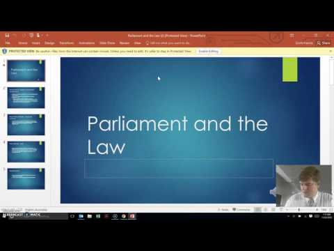 11 Legal Studies Intro to the Law Revision Video