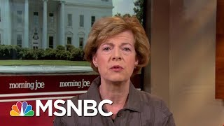 senator tammy baldwin sees hurdles in dr ronny jacksons confirmation morning joe msnbc