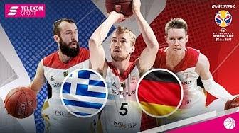 Griechenland - Deutschland LIVE | FIBA World Cup 2019 Qualifiers | Telekom Sport