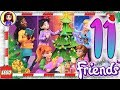 Day 11 Build your Christmas Tree Decorations - Lego Friends Advent Calendar 2018