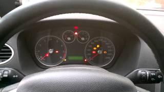 Ford Focus 2 1.6 115. Проблемы с электроникой при запуске двигателя