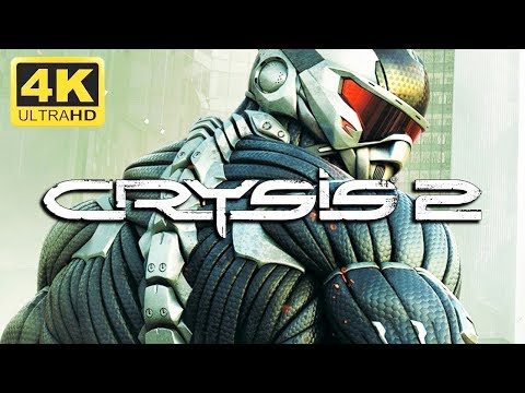 CRYSIS 2 - Game Movie 2019 (4K With Graphic Mods, Post-human Warrior) [60fps, 4K]