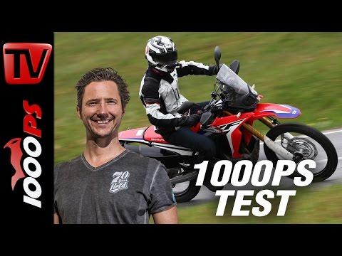 1000PS Test - Honda CRF250 Rally 2017 - Nur klein oder auch gut?