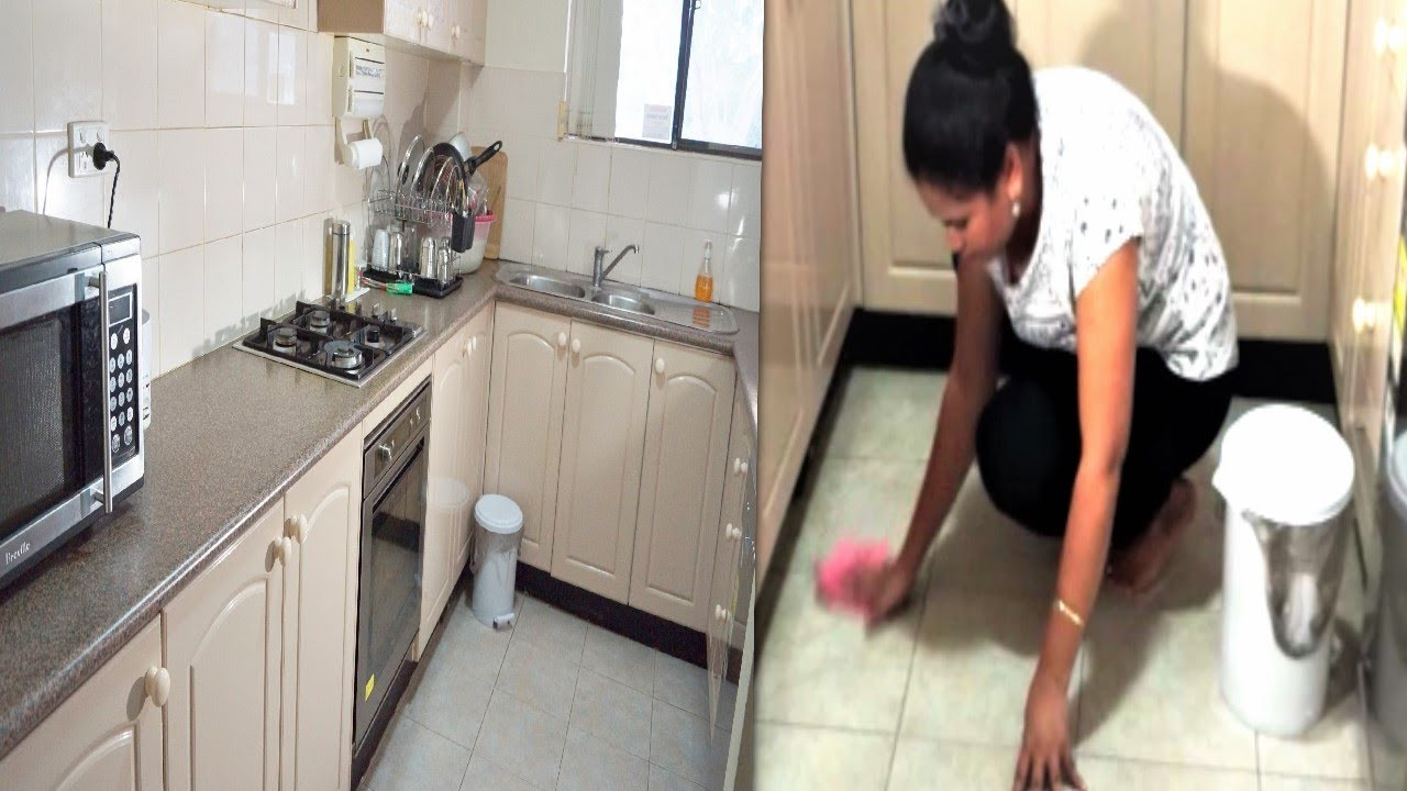 Indian (NRI) Kitchen Cleaning | Everyday cleaning Routine for GERMS ...