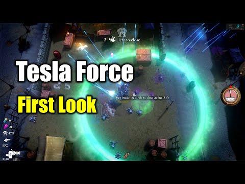 [Tesla Force] Shoot Em All Roguelite First Look |