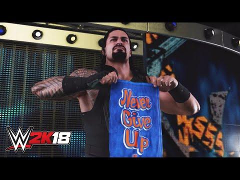 WWE 2K18 entrance mashup: Roman Reigns as John Cena