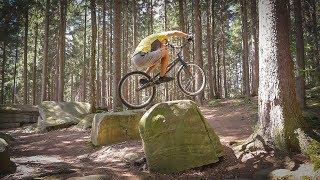 Wyskok rowerem bez rozpędu? Side Hop - poradnik