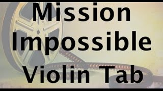 How to play Mission Impossible on the violin