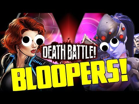 Black Widow VS Widowmaker Bloopers!