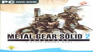 Metal Gear Solid 2 Substance - (Windows PC) - Gameplay - 480p