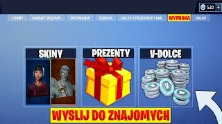 * NEW * SENDING SKINS and V-BUCKS TO FRIENDS!! | Fortnite Battle Royale