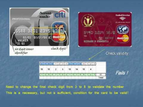 Credit Cards - Breaking the Code: The maths behind bank numbers and ...
