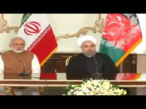 mindblowing speech by Narendra Modi at the Trilateral Summit of Iran, India & Afghanistan