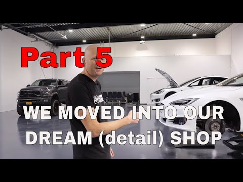 WE MOVED TO OUR DREAM-SHOP: SO READY TO TALK ABOUT DETAILING CARS AGAIN!