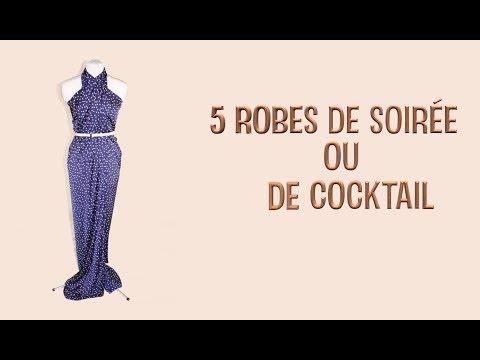 ❤️🎉 Comment coudre 5 robes en 10 min pour -10€. 👗👍💋 Robe de soirée / robe de cocktail