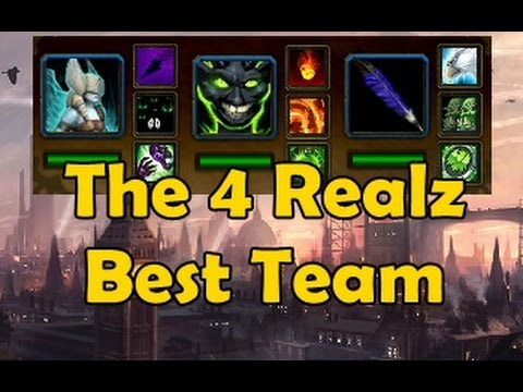The 4 Realz Best Team PvP Pet Battles