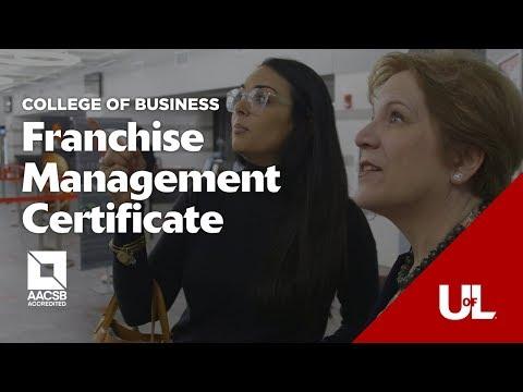 Online Franchise Management Certificate: Program Overview | UofL Franchise Education