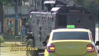 Moradores dos morros do Rio de Janeiro começam 2018 convivendo com a violência