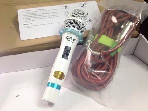 Micro Karaoke CAF CA-P6,hát nhẹ , chống hú,cao cấp 650k lh,0934573743