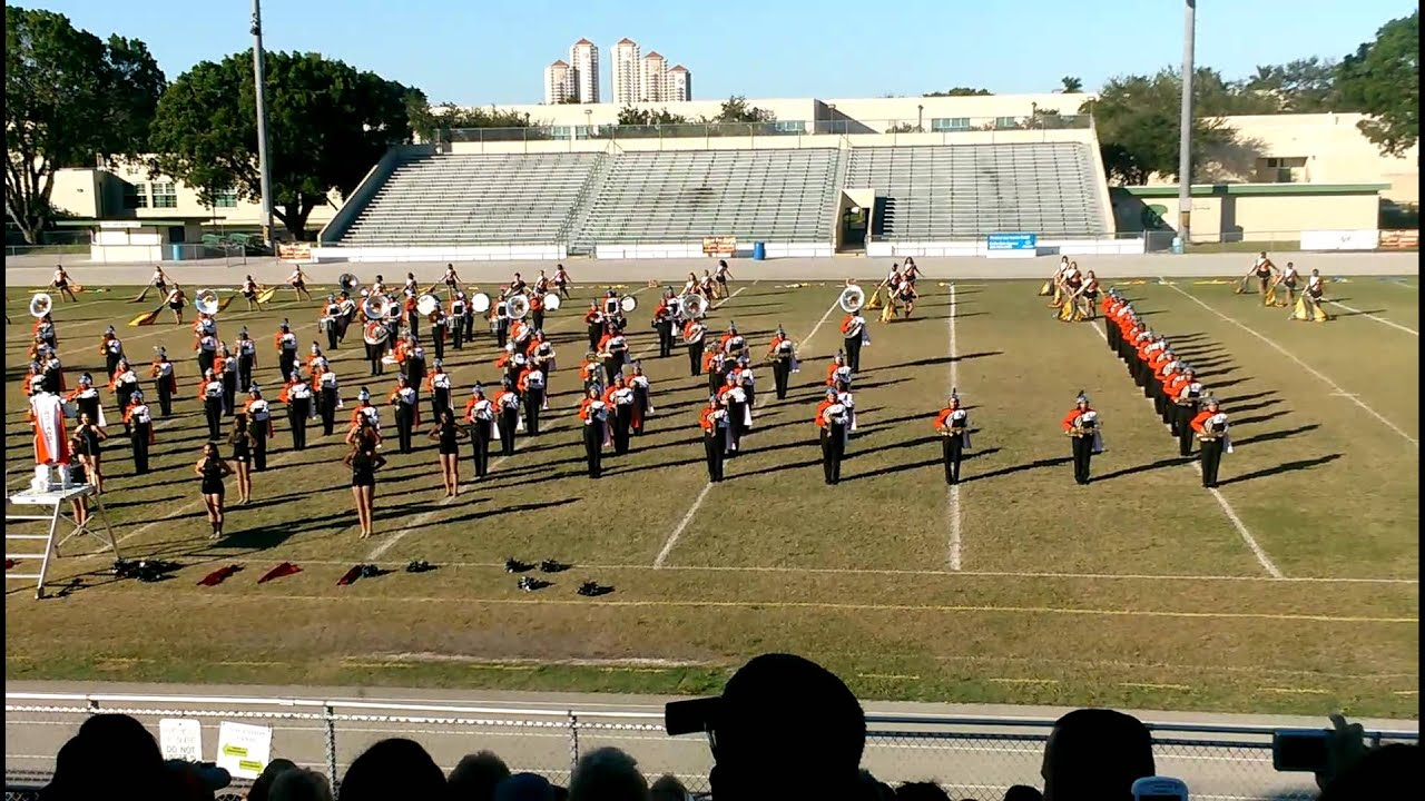 Lely high school marching band October 27,2014